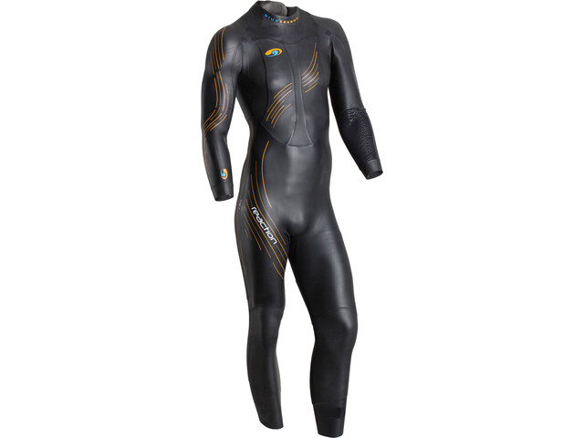 blueseventy Reaction Traje Triatlón Hombre, black